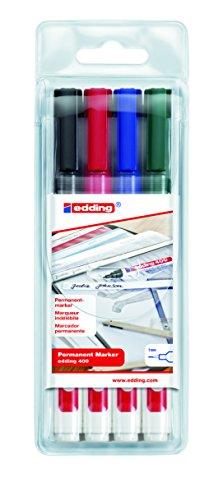 edding-400-marcador-permanente-4-unidades-multicolor