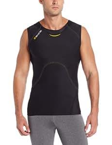 Skins A400 Sleeveless Débardeur de compression homme XS Noir - Noir/jaune