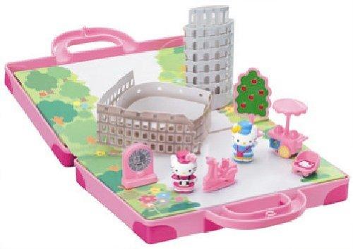 Hello Kitty del mundo mini ciudad de Roma