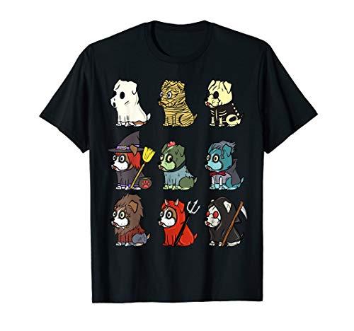 Lustige Boxer Kostüm Hunde - Boxer Gruselige Kostüme Lustiger Hund Halloween Geschenk  T-Shirt