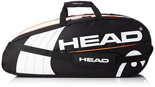Head Core sacca per racchetta, unisex, Core, nero, 75 x 30 x 5 cm, 11 L