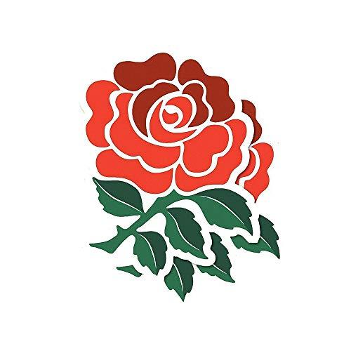 JXNY England Rugby Rose Aufkleber Computer Vinyl Zubehör Dekorative Aufkleber Autozubehör