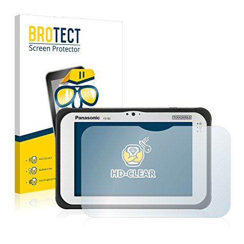 BROTECT Schutzfolie für Panasonic Toughpad FZ-B2 [2er Pack] - klarer Bildschirmschutz