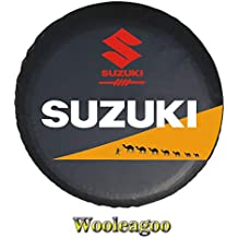 Wooleagoo - Funda Protectora de Vinilo para Rueda de Repuesto
