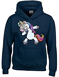 Einhorn Dabbing ! T-Shirt oder Hoodie Sweatshirt mit Kapuze Gr. 116 128 140 cc33791d7e