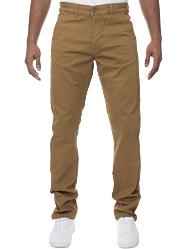 Ze ENZO Mens Enzo Designer Fashion Chinos Stretch Skinny Slim Fit Jeans Pants All Sizes