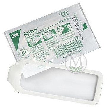 Tegaderm Transparent Dressing #1627 (4x10) (Box of 20) by Tegaderm -