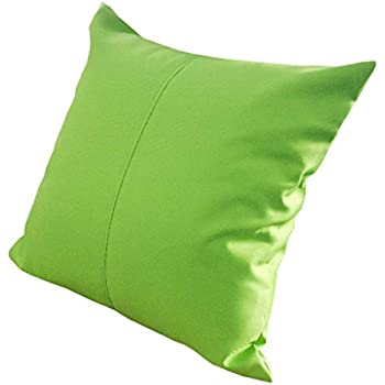lime green water resistant outdoor filled 18 garden furniture cushion