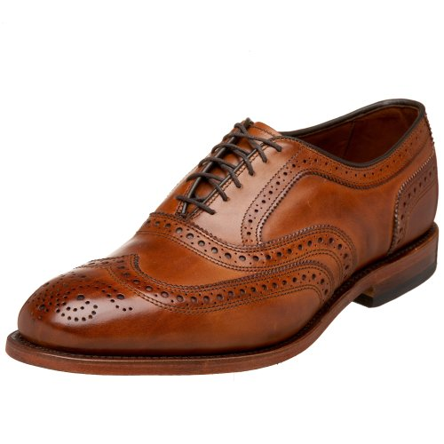 Allen Edmonds Mens MCALLISTR McAllister Wingtip Oxfords Brown Size: 10 UK