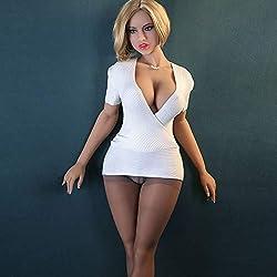 2018 NUEVA Médica TPE160 cm Adulto Realista muñeca del sexo del silicón gran culo mujeres atractivas del pecho para los hombres-003