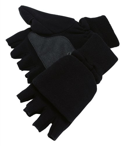 Pinewood Unisex Handschuhe Angler-/Jäger, schwarz, M-L