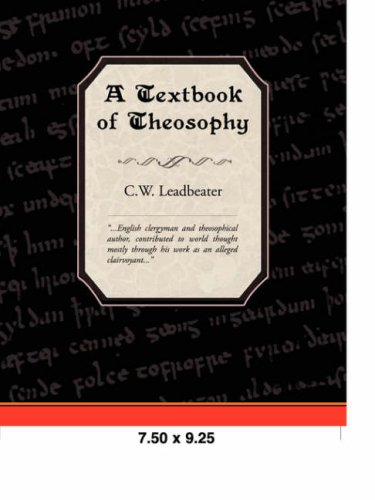 A Textbook of Theosophy Cover Image