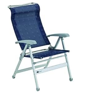 Dukdalf Chaise de camping Paso Doble bleu