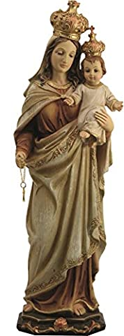 Blessed Virgin Mary Madonna and Infant Jesus Christ Child Church Figure Statue 20cm
