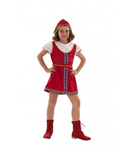 Imagen de disfraz de rusa para niñas en varias tallas