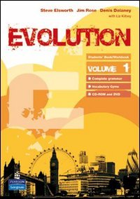 Evolution. Multimedia. Student's book-Workbook-Portfolio. Per le Scuole superiori. Con CD Audio. Con CD-ROM. Con DVD-ROM: 1