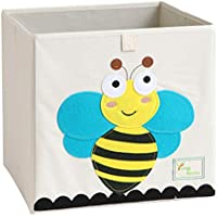 Cartoon Boîte de rangement pliable en toile pour enfant