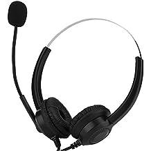 USB Headset Hands-Free Call Center Telefono Cuffia con con cancellazione  del Rumore Cuffie Auricolare 66f2a413901d