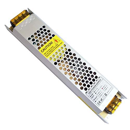 Yayza! 1-confezione compatto ultra sottile ip20 ip20 24v 6.25a 150w led a bassa tensione driver transformer modulo universale ac dc commutazione alimentatore adattatore indoor
