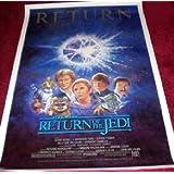Star Wars Episode VI Return Of The Jedi: 1985 Rerelease Rolled One Sheet Film Poster