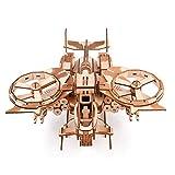 Aircraft Puzzle in Legno 3D, DIY Modello Aereo Kit Blocchi Costruzione Giocattolo di Invenzione Scientifica Giocattolo Cognitivo Sviluppo Logica Mano Cervello capacità per Bambini e Adulti Regalo