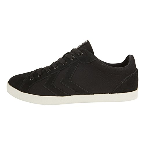Hummel Unisex-Erwachsene Deuce Court Canvas Sneaker Black