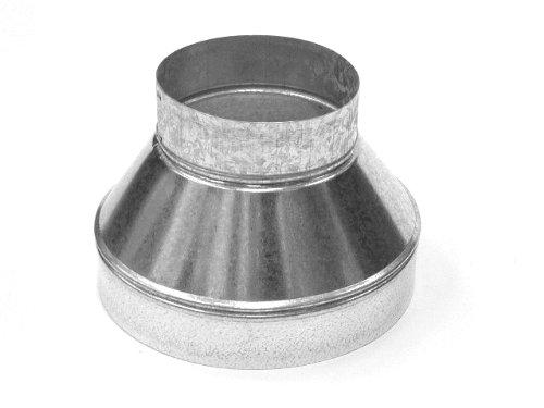 150 mm-125 mm Réducteur pour équipement de ventilation en métal