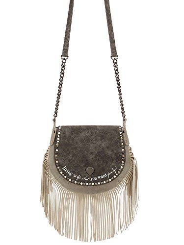 Borsa a Tracolla | Le Pandorine Mini Studs Bag | Life | P/E 2017 | PE17DAX02033-Grey Grau