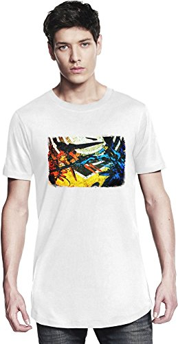 Zone Of The Enders HD Collection Colorful Lange T-Shirt X-Large (Enders Zone 360)