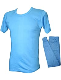 Mens Thermal Twin Pack Short Sleeved Vest & Long Johns Leggings.