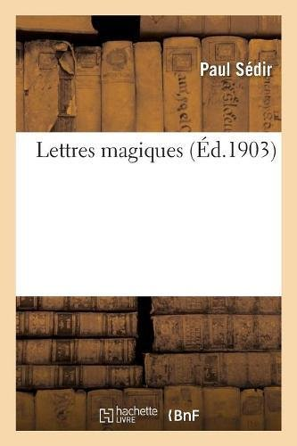 Lettres magiques par Paul Sédir