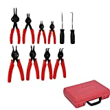 11/Set Universal Mechanik interne externe Sicherungsring Zange Tool Set Zangen Snap Ring in Fall