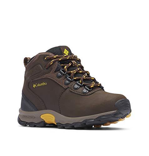 Columbia Newton Ridge Unisex-Kinder Trekking- & Wanderhalbschuhe, Braun (Cordovan/Golden Yellow), 28 EU - Columbia-kinder-stiefel