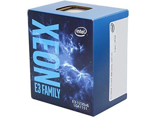 Intel Xeon E3-1230 V6 3.5 GHz Socket 1151 Boxed -