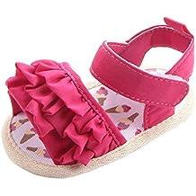 zapatos bebe primeros pasos, Switchali Recién nacido bebe niña verano Floral Suela blanda princesa Zapatillas ninos vestir casual Sandalias zapatos deportivos barato