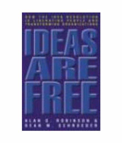 Ideas Are Free [Paperback] [Jan 01, 2012] Alan G. Robinson
