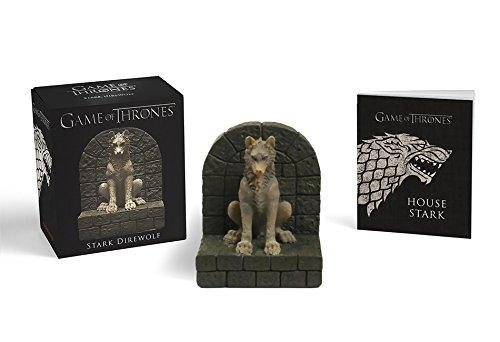 Game of Thrones: Stark Direwolf (Running Press Miniature)