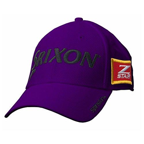 2015 Srixon Z-Star Spinskin Hat Tour Mesh Fitted Mens Golf Cap Purple Small/Medium