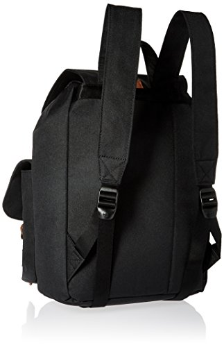 Herschel Supply Company Dawson Casual Tagesrucksack Black/Tan Synthetic Leather