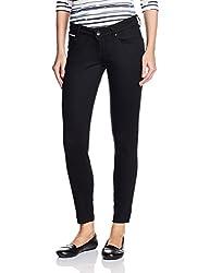Lee Womens Skinny Jeans (LEJN5253_Stretch Deluxe Jet Black Swaroski Tape Hr_31)