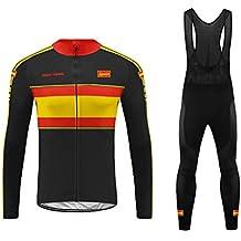 Uglyfrog Ciclismo Maillot Hombres Invierno Fleece Warm Jersey +Culotte  Pantalones Largos Mangas Largas Bodies Ciclismo e0a3328f8c48e