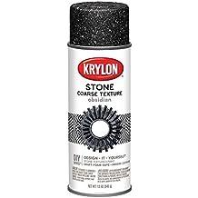 Krylon Make It textura. de piedra pintura de aerosol, 12-Ounce