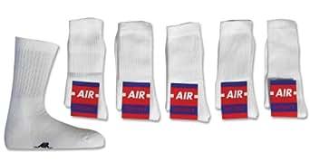 10 Paar Air ohne Druck Größe 35/38, Weiß