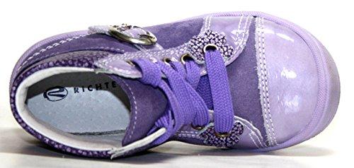 Richter Kinderschuhe 0221 11 Mädchen Stiefeletten Lila (lavender 4000)