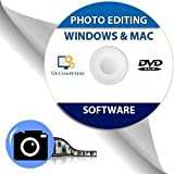 Photo Image Editing Software Disc alternative to Adobe Photoshop for Windows and Mac