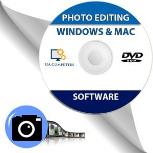 Price comparison product image Photo Image Editing Software Disc alternative to Adobe Photoshop for Windows and Mac