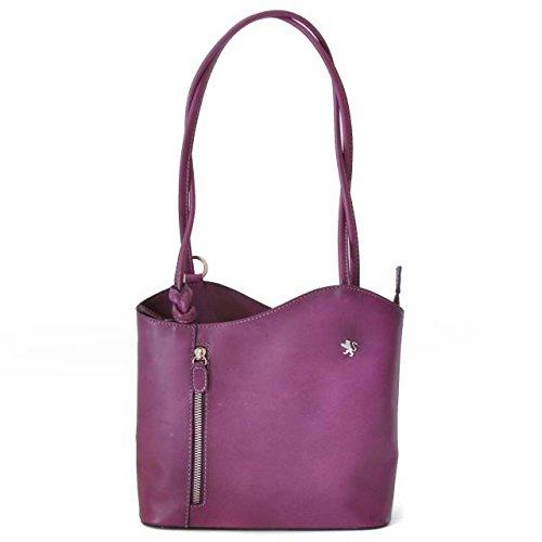 Pratesi Consuma petit sac - B465/P Bruce (Vert) Violet