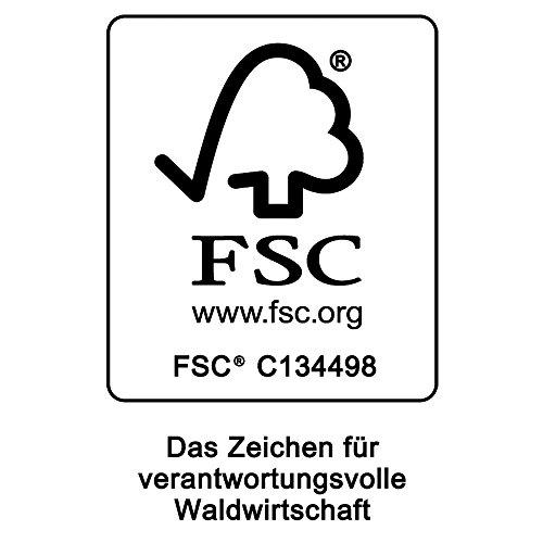 Deuba Schwungliege | FSC®-zertifiziertes Akazienholz | Ergonomisch | Vormontierte Latten | Wippfunktion | Gartenliege Sonnenliege Relaxliege Saunaliege - 6
