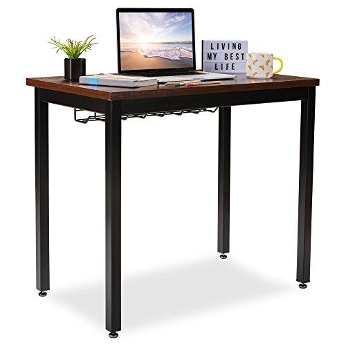 Computer-Schreibtisch für Home Office W/Kabel Organizer-Robuster Rahmen-Moderne Arbeitsstation Möbel für das Schreiben, Gaming oder Studenten Laptop Verwenden 36