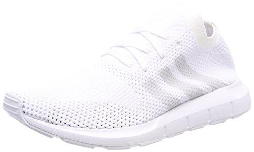 adidas Herren Swift Run Primeknit Fitnessschuhe, Weiß Griuno/Ftwbla 000, 44 2/3 EU